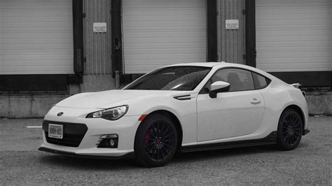 Subaru Brz 2015 Black Wallpaper 1600x900 23716