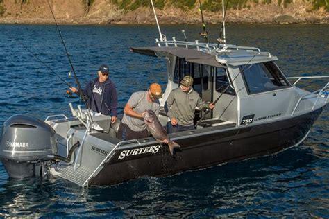 enclosed cabin fishing boats surtees 750 game fisher best aluminium fishing trailer