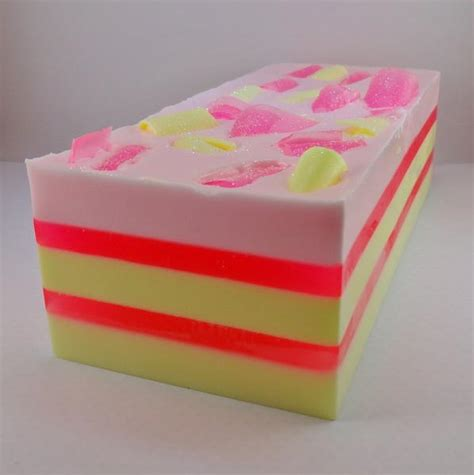 raspberry lemonade soap loaf wholesale soap of the