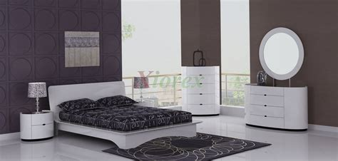 Contemporary White Bedroom Furniture Eri All White Modern Bedroom Furniture Sets Canada Xiorex