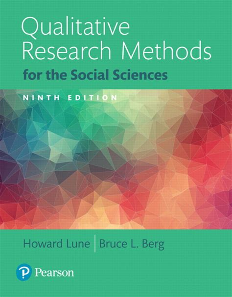 research methods for the behavioral sciences books lune berg qualitative research methods for the social