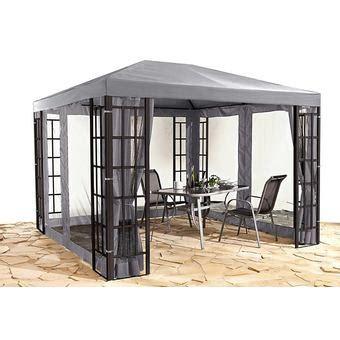 wetterfester pavillon kunststoffdach alu optik pavillon 2014 anthrazit
