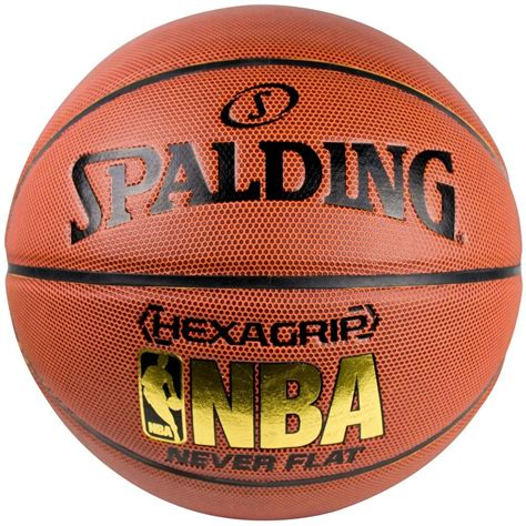 spalding nba hexagrip  flat composite leather basketball size  ebay