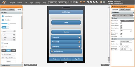 jquery mobile builder building mobile apps in the cloud with jquery mobile