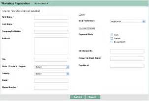 Free Html Form Templates by Html Form Builder Free Web Form Zoho Creator