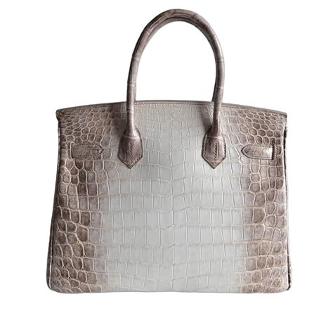 Hrms Birkin Croco 06 this 2014 herm 232 s himalaya birkin bag just sold for 380 000 at an auction kamdora