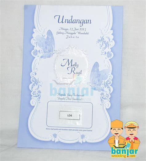 Undangan Pernikahan Murah Lintang 37 Undangan Pernikahan Murah Ub L04 Banjar Wedding Banjar