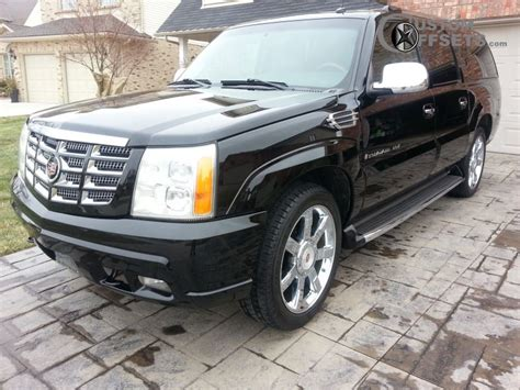 2003 Cadillac Rims by Wheel Offset 2003 Cadillac Escalade Esv Flush Stock Custom