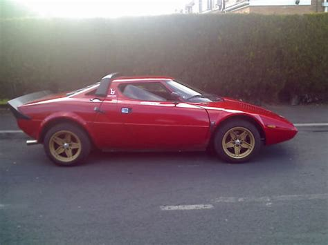 Lancia V8 Just Like The Real Thing Lancia Stratos Replica With