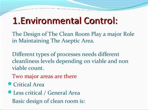 clean room design ppt presentation on aseptic filling
