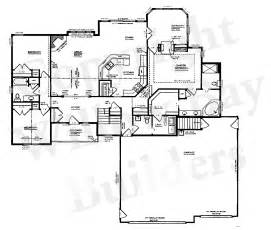 Customized Floor Plans Custom Floor Plans And Blueprints In Appleton Wi And The Fox Valley Willow Bay Builders