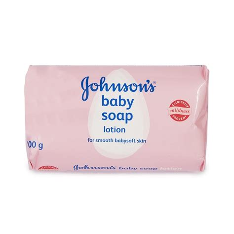 Its In The Soap Baby by Johnson S 174 Baby Soap 200g Woolworths Co Za