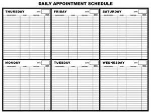 free appointment calendar template appointment calendar template great printable calendars