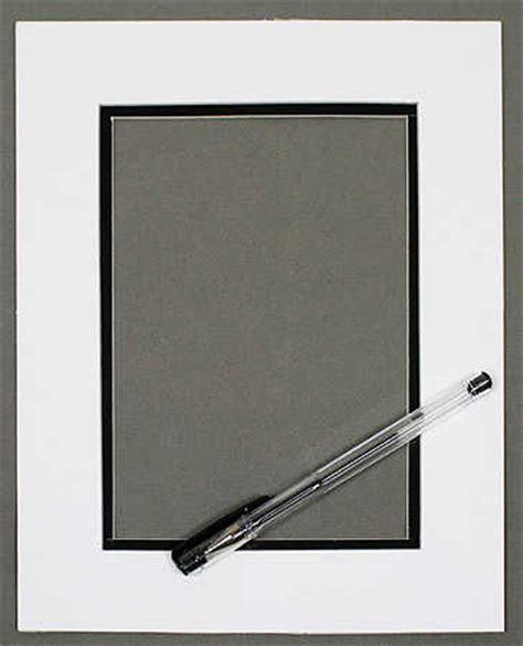 white autograph mat for 8 x 10 quot frame photo albums
