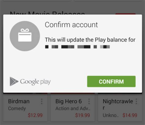 Google Play Store Gift Card 5 - how to use a google play gift card android central