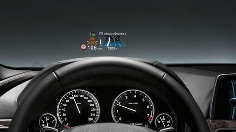 bmw head  display   color roadshow