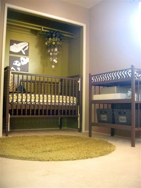 Crib In Closet by Pin By Caitlin On For When I