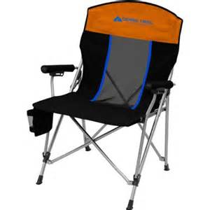ozark chairs ozark trail elite hardarm chair walmart