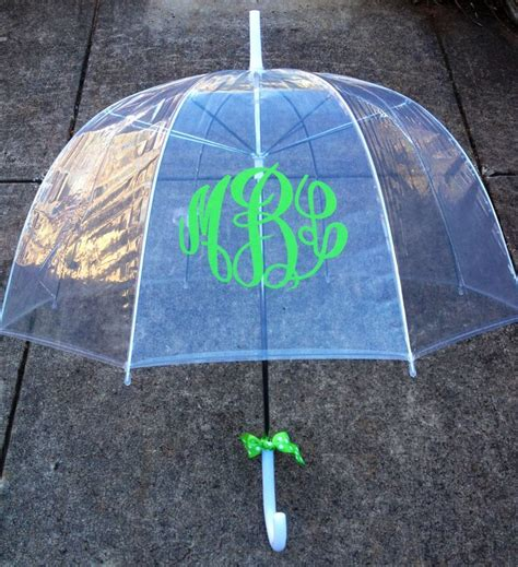 monogrammed gift monogrammed umbrella personalized