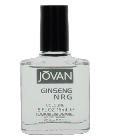 Ub Ginseng ginseng nrg by jovan for mini cologne splash 0 5 oz