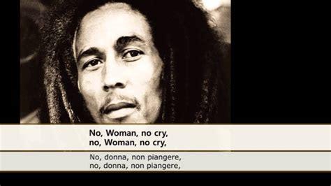 Testo No No Cry Bob Marley No No Cry Sottotitoli Testo