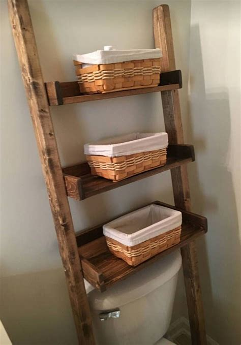 over the toilet ladder 25 best ideas about bathroom ladder shelf on pinterest
