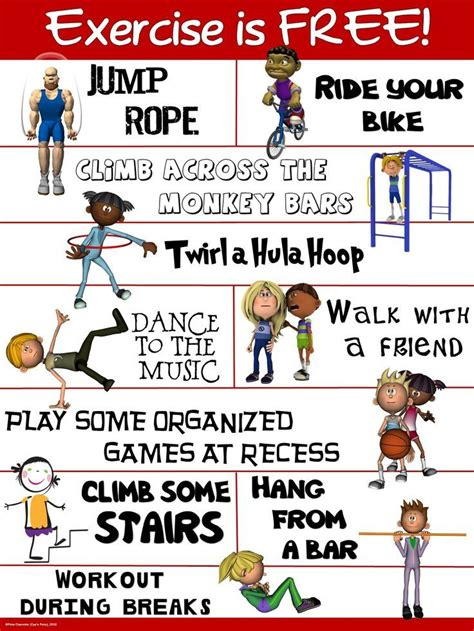 printable fitness poster 207 best health posters printables images on pinterest