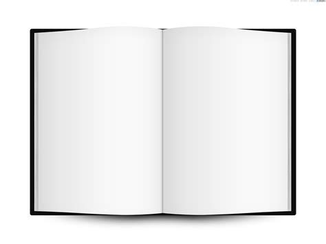 blank book template for blank open book template psdgraphics png templates