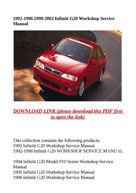 airbag deployment 1993 nissan sentra free book repair manuals service manual 1992 infiniti g workshop manual automatic transmission 1992 infiniti g20