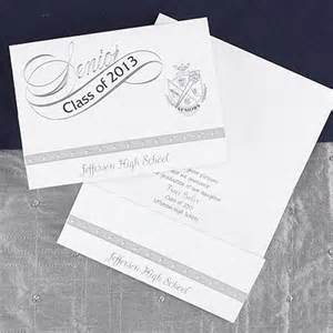 2013 silver design your own announcement graduation