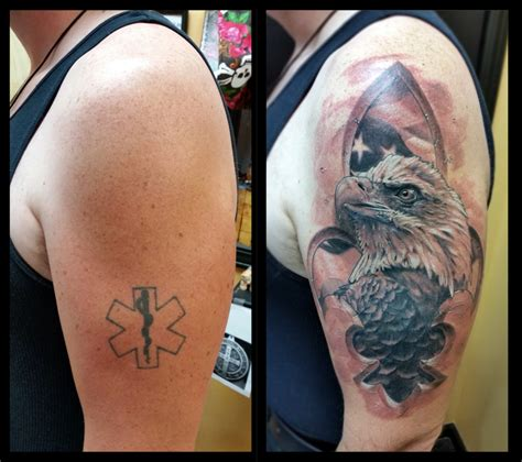 tattoo cover up artist marc tice owner and artist 13thhourtattoos