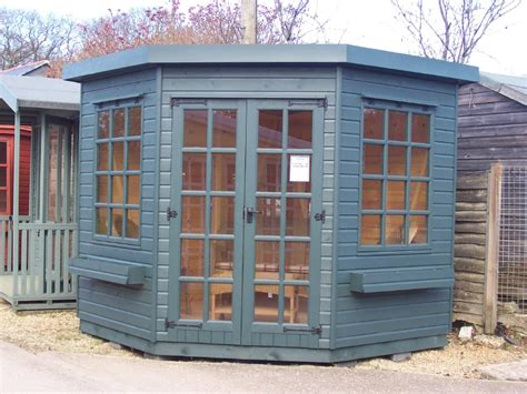 Five Sheds by Iow Garden Summerhouses Centre 5 Sided Corner Summerhouse