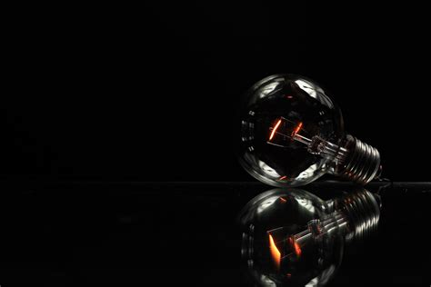 black and light free stock photo of black bulb electricity