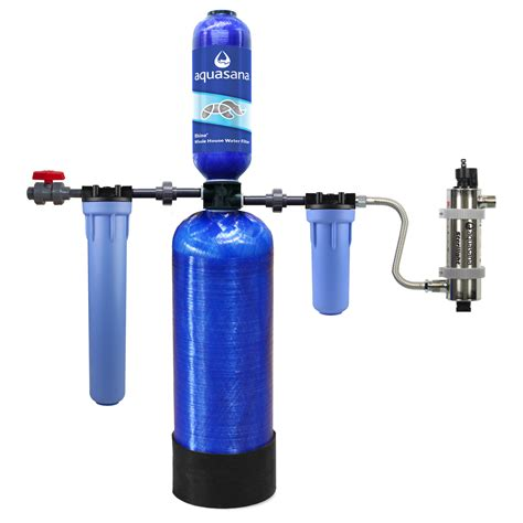uv light for well water aquasana rhino eq 500 well system with uv filter and 35