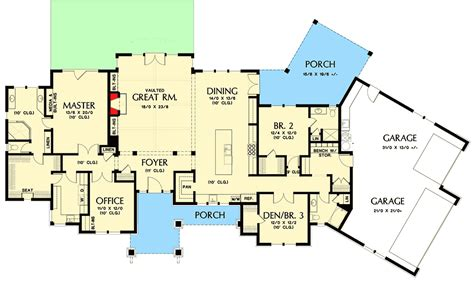 northwest floor plans beautiful northwest ranch home plan 69582am