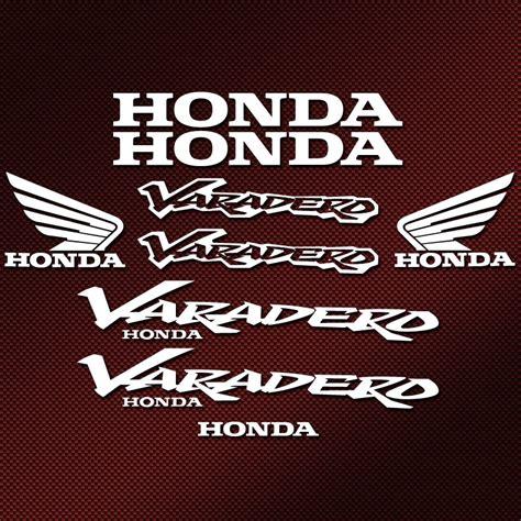 Sticker Honda Varadero kit autocollants honda varadero stickers moto