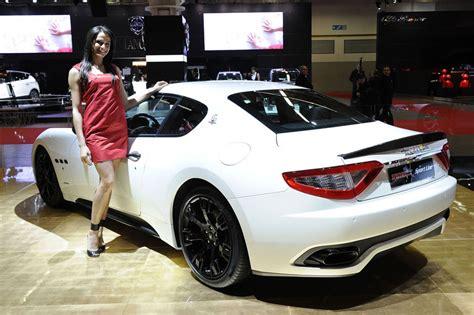 Maserati Granturismo Mc Sport by Maserati Unveils Granturismo Mc Sport Line At Bologna