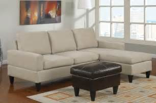 Small Sectional Sofas Poundex Furniture Bobkona All In One Small Sectional Sofa Set F7283 Mushro Contemporary