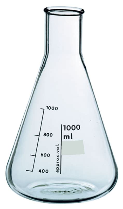 Erlenmeyer Flask 1000 Ml Narrow Neck With Graduation Duran erlenmeyer flask boro 3 3 500 ml narrow neck