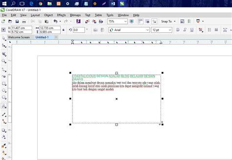 langkah membuat barcode pada coreldraw langkah mudah membuat mengedit dan memodifikasi teks
