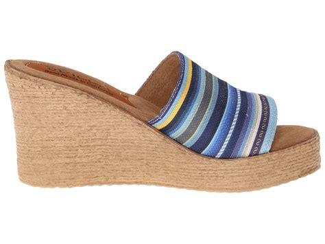 Sandal Kulit L 201 sbicca saguara wedge sandal blue multi ebay