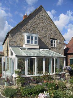 conservatory on side of house anglian garden room conservatory white with dwarf wall conservatories and orangery
