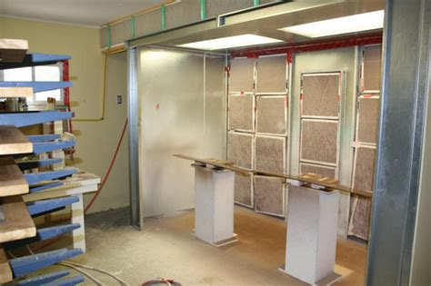 cabinet shop spray booth kevin dunphy custom woodworking