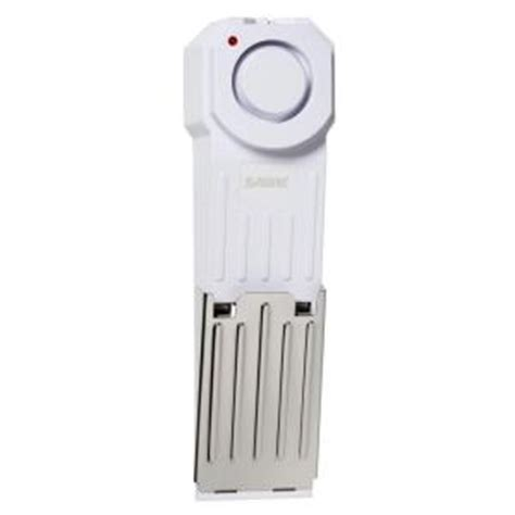 sabre home series wireless door stop alarm hs dsa the