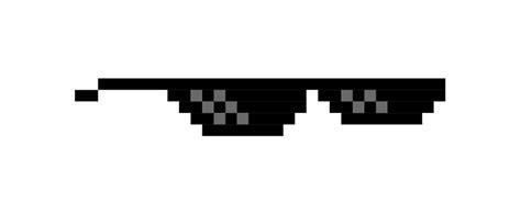 Meme Glasses - quot 8 bit mlg glasses quot mugs by miskel design redbubble