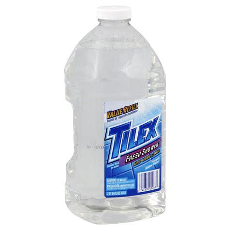 tilex daily shower cleaner value refill fresh shower 64