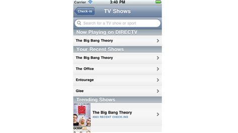 Lg Set Jump Miso Directtv And Getglue Snuggle Up On With And Iphone