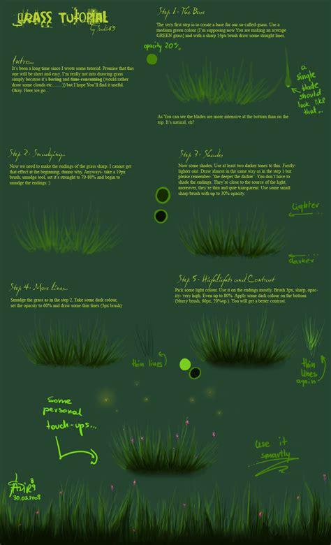 tutorial photoshop grass grass tutorial by sadir89 on deviantart