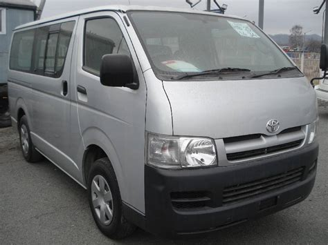 Toyota Hiace 2004 Model 2004 Toyota Hiace Images 2500cc Gasoline Automatic For