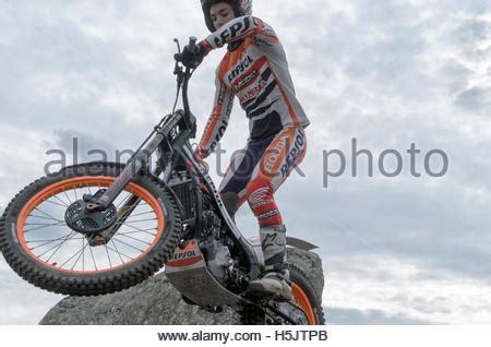 Trial Motorrad Rennen by Motorradfahren Trial Rennen Spanien Meisterschaft Oriol